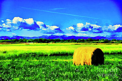 Digital Art - Early Harvest by Rick Bragan