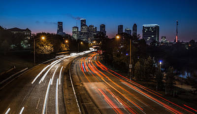 Photograph - Early Houston by Chris Multop