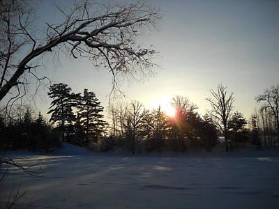 Photograph - Early January Winter Sunrise by Kent Lorentzen