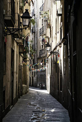 Photograph - Early Light - Barcelona Spain by Russell Mancuso