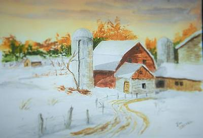 Newengland Painting - Early Light by Jim Decker