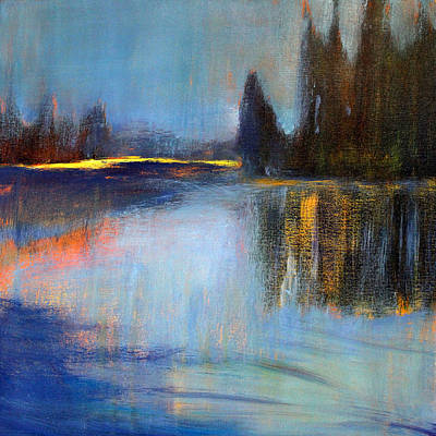 Painting - Early Light by Nancy Merkle