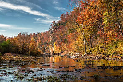 Photograph - Early Light On The Buffalo River by James Barber