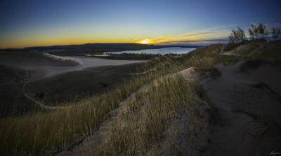 Photograph - Early Light On The Dunes by Owen Weber