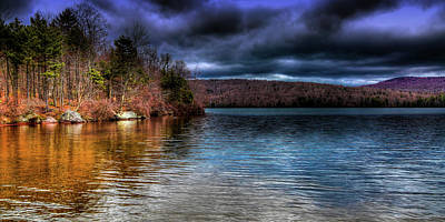 Art Print featuring the photograph Early May On Limekiln Lake by David Patterson