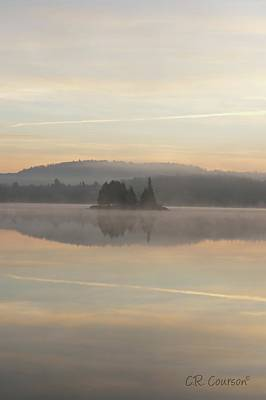 Photograph - Early Morning Algonquin by CR Courson
