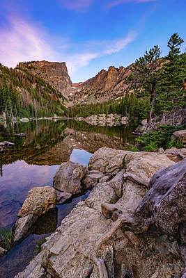 Photograph - Early Morning At Dream Lake - Rocky Mountain National Park by Gregory Ballos