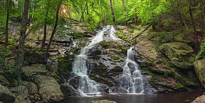 Photograph - Early Morning At Mineral Springs Falls by Angelo Marcialis