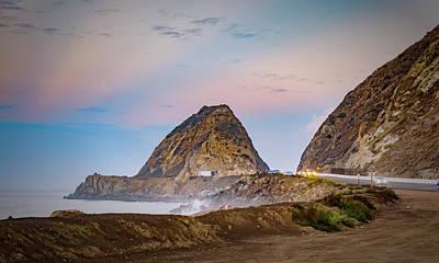 Photograph - Early Morning At Mugu Rock by Dutch Ducharme