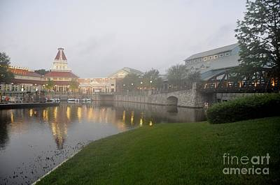 Early Morning At Port Orleans Riverside Art Print
