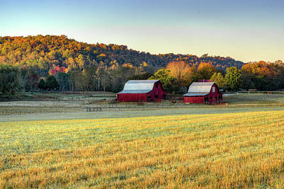 Photograph - Early Morning At The Old Farm Place by Douglas Barnett