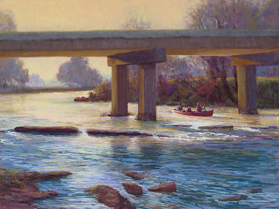 Painting - Early Morning Canoe by Marsha Savage
