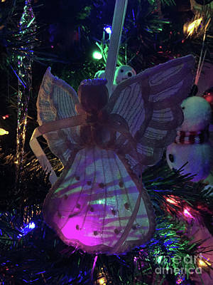 Photograph - Early Morning Christmas Angel by Matthew Seufer