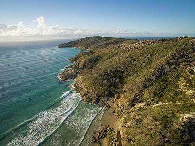Photograph - Early Morning Coastal Views On Moreton Island by Keiran Lusk