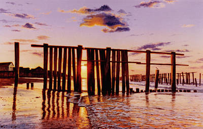 Painting - Early Morning Contrasts by Randy Welborn