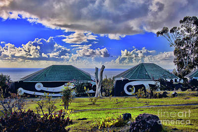 Photograph - Early Morning Easter Island by Rick Bragan