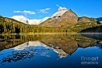 Photograph - Early Morning Fishercap Reflections by Adam Jewell