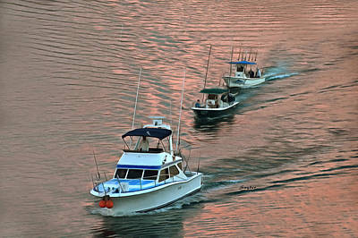 Photograph - Early Morning Fishing Charters Manzanillo Mexico by Floyd Snyder