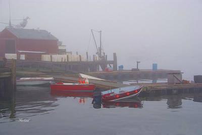 Early Morning Fog Print by Garland Johnson