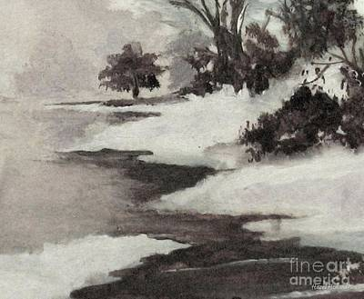 Painting - Early Morning Fog by Hazel Holland