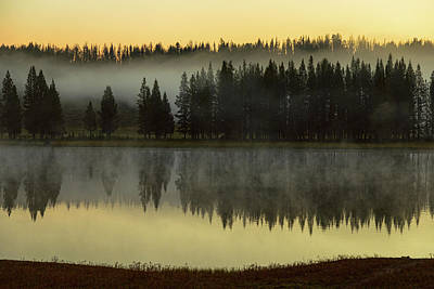 Photograph - Early Morning Foggy Reflections by James BO Insogna