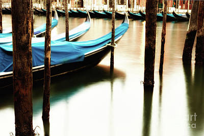 Photograph - Early Morning Gondolas by Miles Whittingham