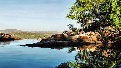 Photograph - Early Morning - Gunlom - Kakadu National Park by Lexa Harpell