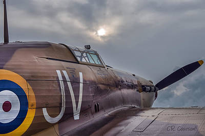Photograph - Early Morning Hurricane by CR  Courson