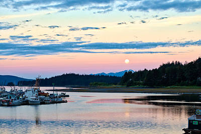 Photograph - Early Morning In Auke Bay by Cathy Mahnke