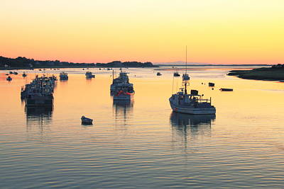 Boat Photograph - Early Morning In Chatham Harbor by Roupen  Baker