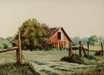 Painting - Early Morning In East Texas by Randy Welborn