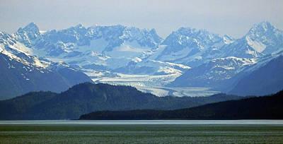 Photograph - Early Morning In Glacier Bay by Judy Wanamaker