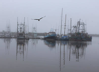 Photograph - Early Morning In Ilwaco Washington by Elizabeth Rose