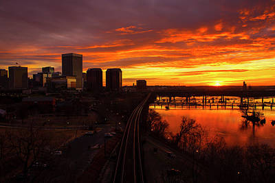 Wall Art - Photograph - Early Morning In Richmond by Cliff Middlebrook