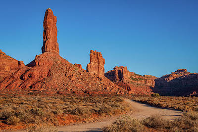 Photograph - Early Morning In The Valley Of The Gods by David Cote