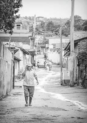 Photograph - Early Morning In Trinidad Cuba High Key by Joan Carroll