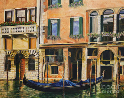 Painting - Early Morning In Venice by Charlotte Blanchard