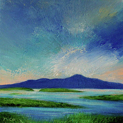Painting - Early Morning Light At Clew Bay, Ireland  by K McCoy