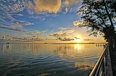 Photograph - Early Morning Light by HH Photography of Florida