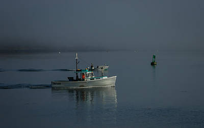Photograph - Early Morning Lobstering by Jane Luxton
