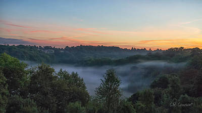 Photograph - Early Morning Loire Valley by CR  Courson