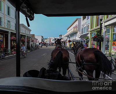 Photograph - Early Morning Mackinac Island by Randy J Heath
