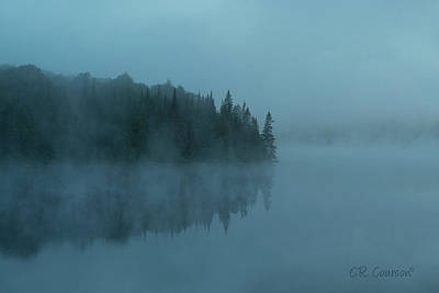 Photograph - Early Morning Mist by CR Courson