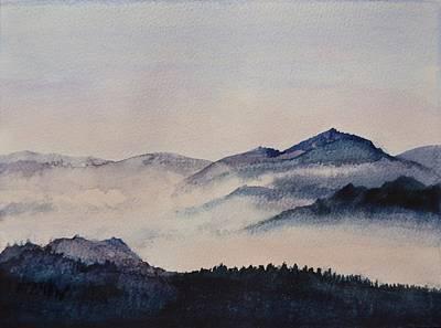 Early Morning Mist Art Print