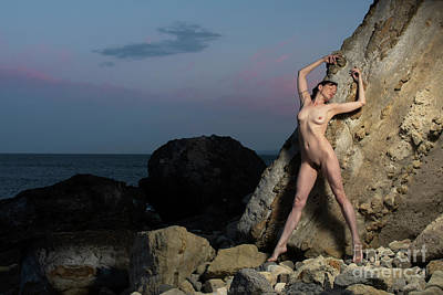Photograph - Early Morning Nude At The Beach 001 by Clayton Bastiani