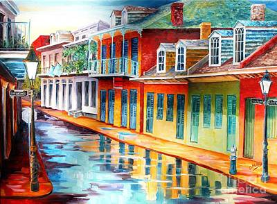 Creole Cottage Wall Art - Painting - Early Morning On Chartres Street by Diane Millsap