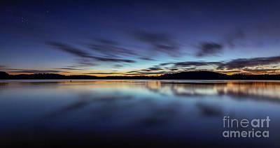 Photograph - Early Morning On Lake Lanier by Bernd Laeschke