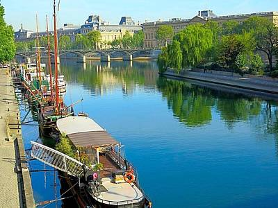 Photograph - Early Morning On The Seine by Betty Buller Whitehead