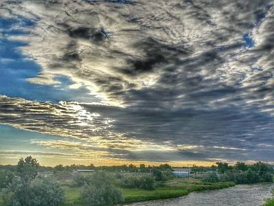 Early Morning Over The North Platte Art Print by Chris Short