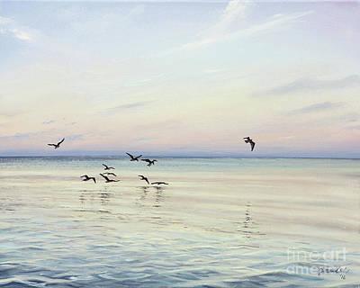 Painting - Early Morning Patrol by Joe Mandrick